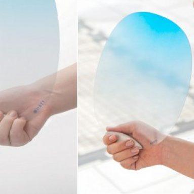 Cooling designer office hand fan for summer