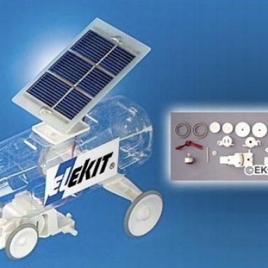 Solar PET Bottle Car