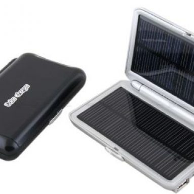 Solar Charger with Dual USB Ports