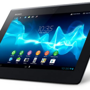 "Sony Xperiaâ""¢ Tablet S – more than just an Andoid tablet"