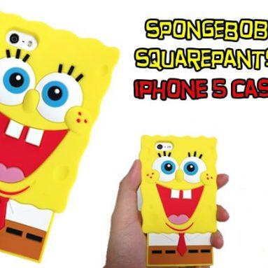 SpongeBob SquarePants Silicone 3D iPhone 5 Case