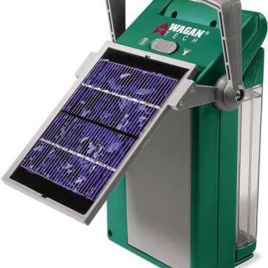 Solar-Powered Fluorescent Lantern & Spotlight