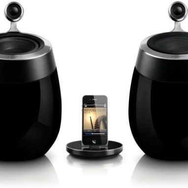 Philips Fidelio SoundSphere Docking Speaker with AirPlay