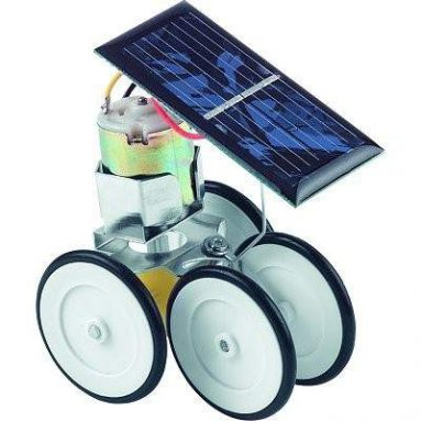 Solar-powered robot