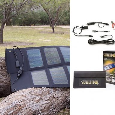 Sunlinq portable folding solar charger