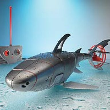 Radio-Controlled Cyborg Shark