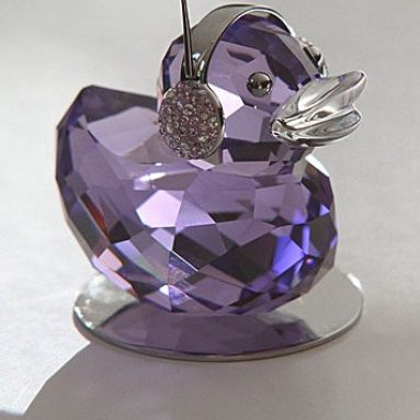 Swarovski Crystal Duck