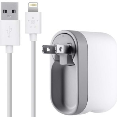 Belkin Swivel Wall Charger with 8-Pin Lightning Cable