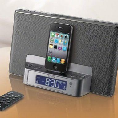 Sony Dream Machine iPod/iPhone Speaker Dock Dual Alarm Clock