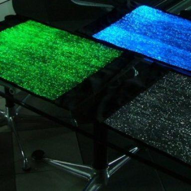 Luminous Fiber Optics Placemats