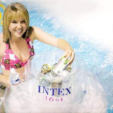 Inflatable Beverage Cooling Bar