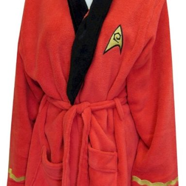 Star Trek Nyota Uhura Plush Robe