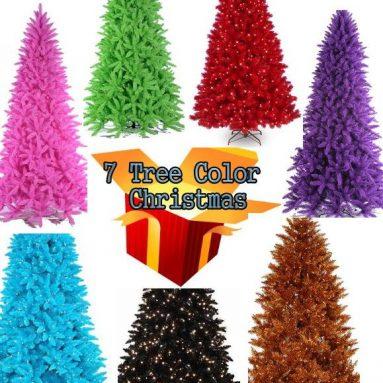 7 Christmas Color Tree
