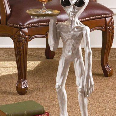 the Alien Butler Sculpture