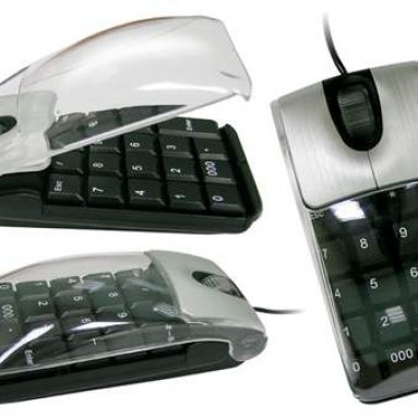 Two-in-one keypad mouse