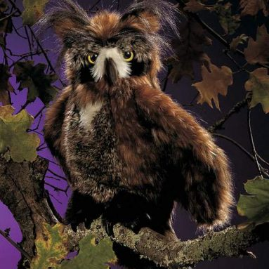 Horned Owl Puppet
