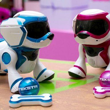 Interactive robotic puppy