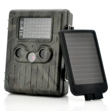 "Game Camera With Rechargable Battery + Solar Panel ""SolarTrail"""