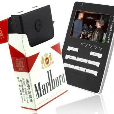 Cigarette Box Covert Wireless Camera