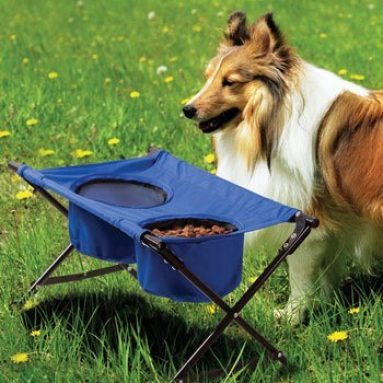 Dog Travel Diner- Portable