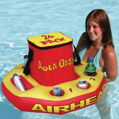 Insulated Nylon Cooler with Removable Floating Base