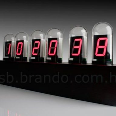 USB Tube Clock