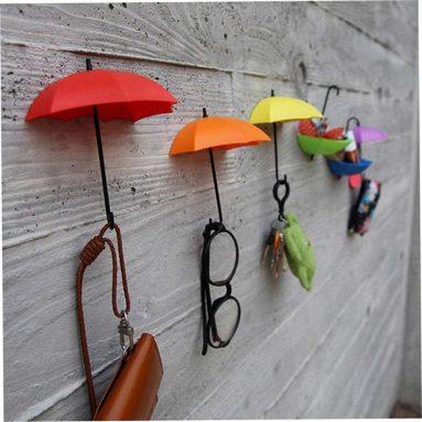 umbrella design wall hooks
