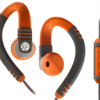 Water Resistant iPhone Mic Remote Sport Earphones
