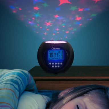 Stars Projector and Clock with Soothing Lullabies
