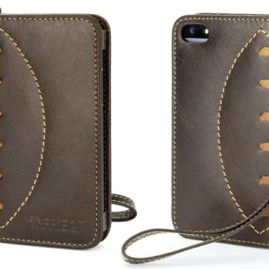 Luxury Wallet Case for iPhone 5