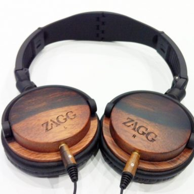 Travel Friendly Wood Headphones Ebony