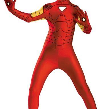 Kids Bodysuit Iron Man Costume