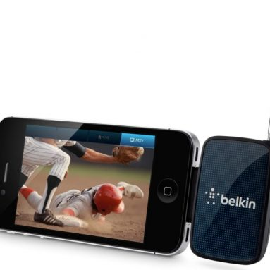 Dyle Wireless Mobile TV Receiver for 30-Pin iPhone, iPad, and iPod