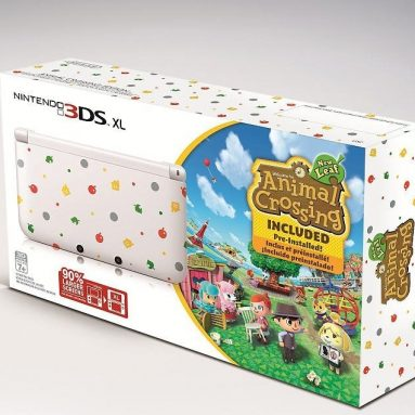 Nintendo 3DS XL Animal Crossing Limited Edition Bundle