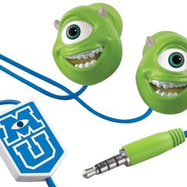 "Monster's U ""Mike Wazowski"" Scare and Wear Earbuds"