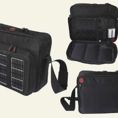 Recycled PET Solar Messenger Bag