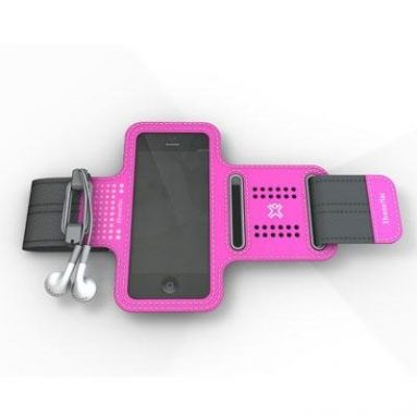 Pink Sportwrap for iPhone 5