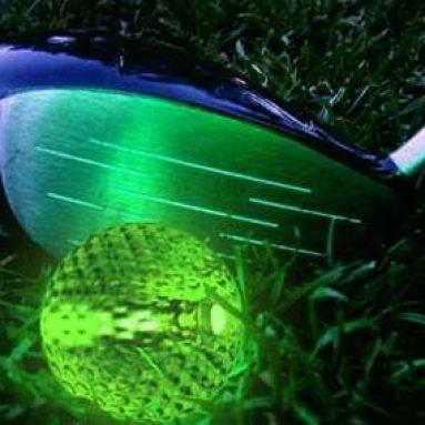 Glow in the Dark Golf Balls
