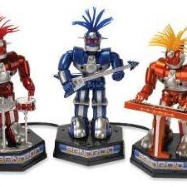 The Animated Robotic Power Trio