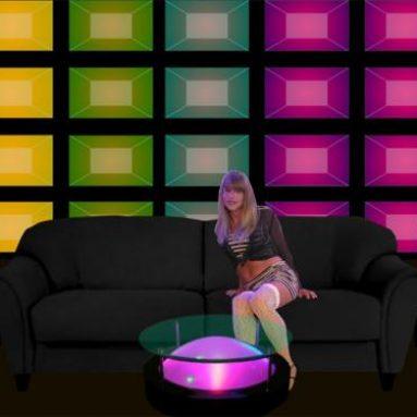 Modular Acrylic LED Wall