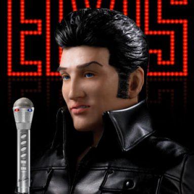 Alive Elvis Animatronic Robot