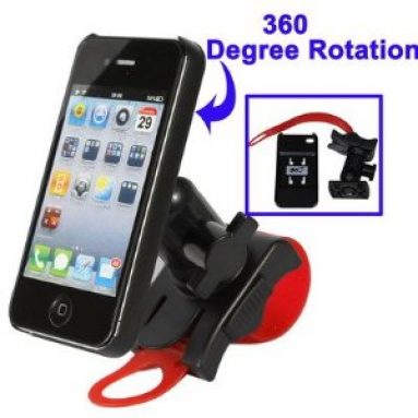 Removable Bike Bicycle Motorcycle Mount Holder for iPhone 4 & 4S