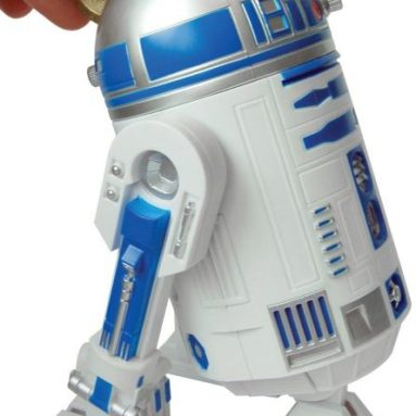Star Wars R2D2 Talking Money Bank
