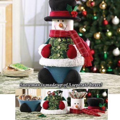 Bobby Boxes Snowman