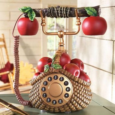 Apple Decor Phone