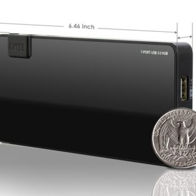 Uspeed USB 3.0 7-Port Hub with 2 Charging Ports