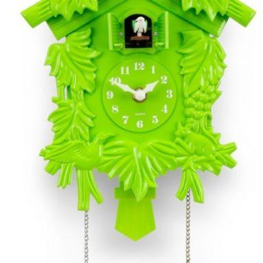 Lime Green Cuckoo Clock
