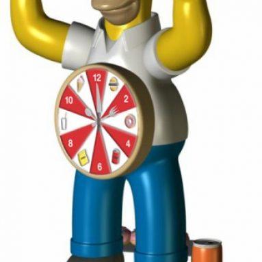 Homer Simpson Singing Alarm Clock