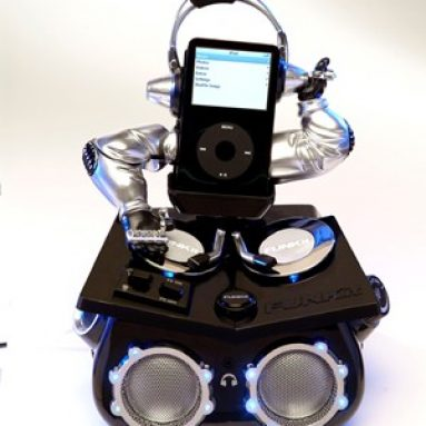 Funkit DJ animated IPOD speaker system