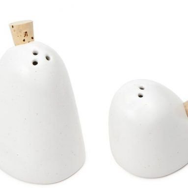 GHOST SALT AND PEPPER SHAKERS